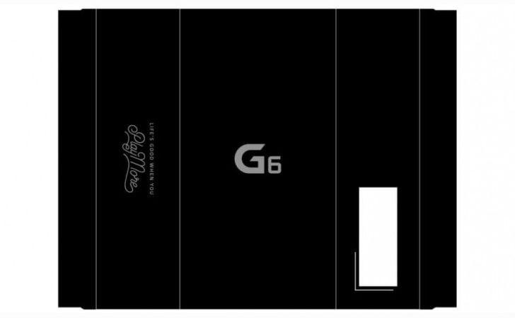 Упаковка LG G6