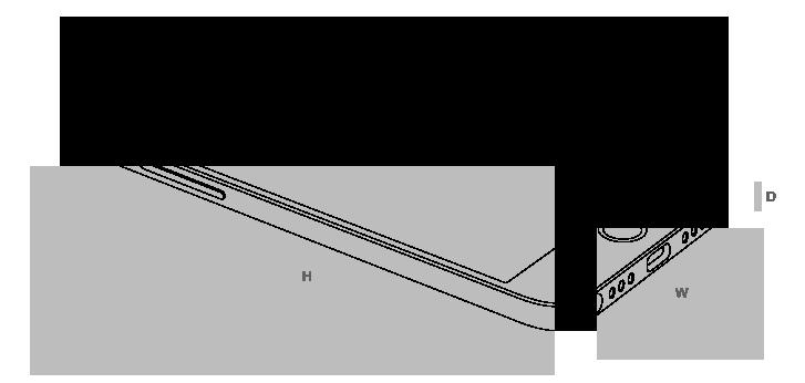 Размеры Smartisan M1