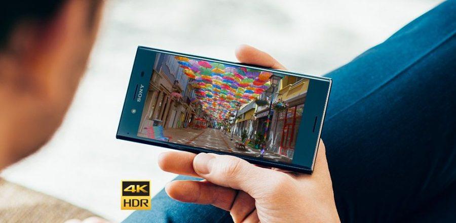 Роскошный экран 4K UltraHD Sony Xperia XZ Premium