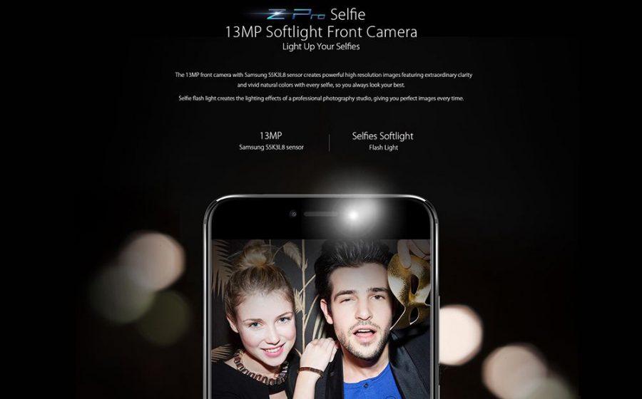 Фронтальная камера UMIDIGI Z Pro