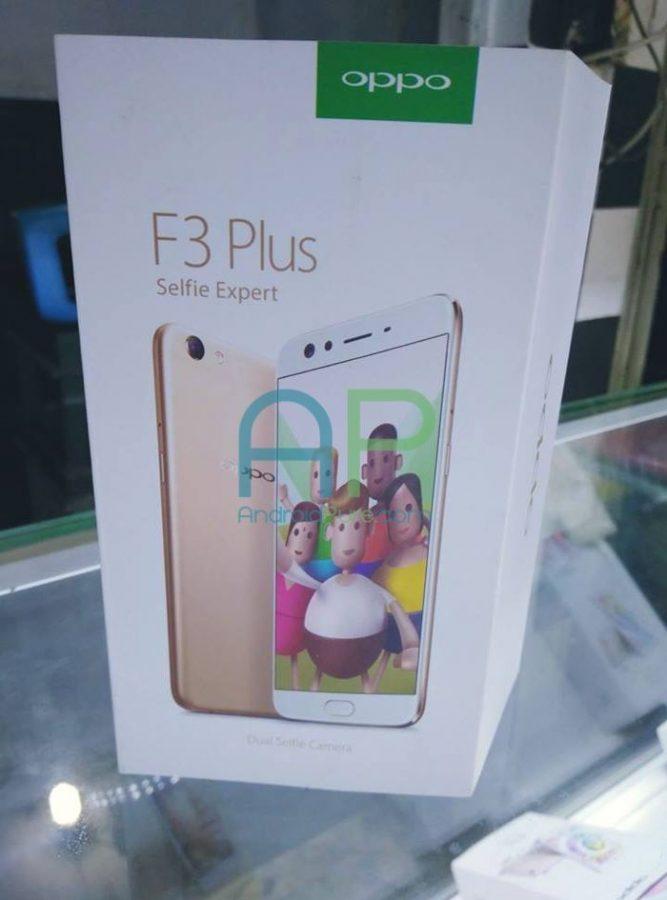 """Oppo F3 Plus: """"селфифон"""" с двойной камерой представят 23 марта"""
