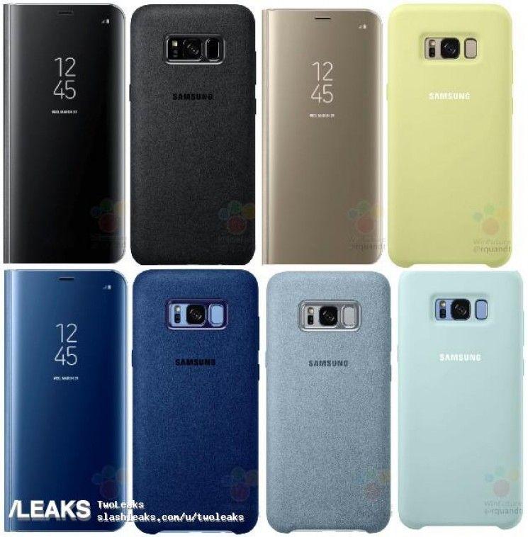 Чехлы и бамперы для Samsung Galaxy S8