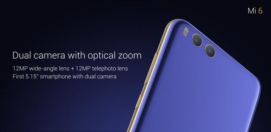 Основная камера Xiaomi Mi6
