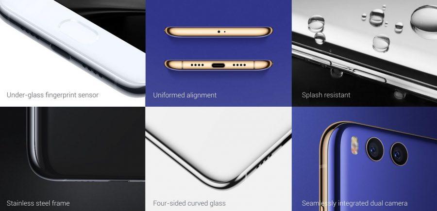 Xiaomi Mi6 - ключевые фишки