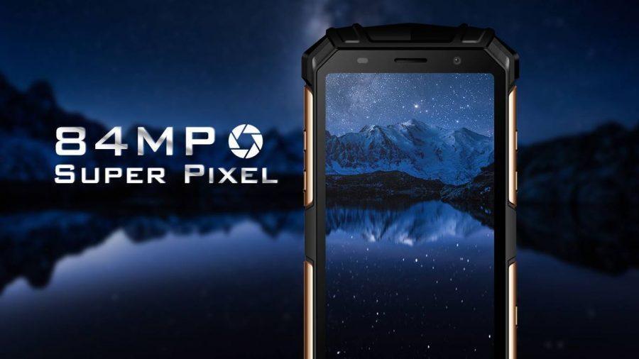 Основная камера Aermoo F1 может иметь разрешение 84 Mp