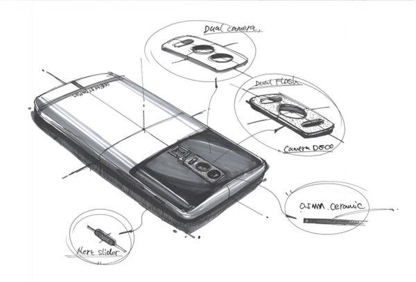 Эскизы OnePlus 5