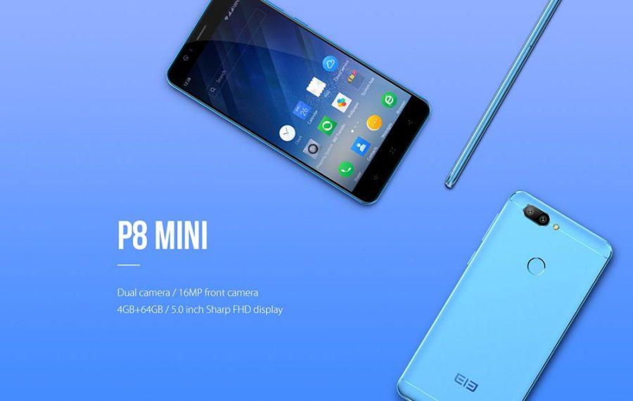 Технические характеристики у Elephone P8 Mini вполне неплохи