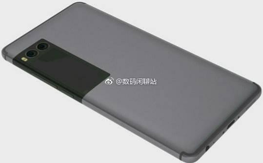 Еще один рендер Meizu Pro 7 с дополнительным экраном