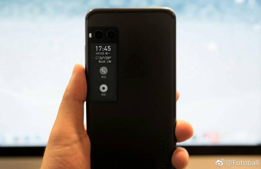 Прототип Meizu Pro 7 с экраном E-Ink или OLED
