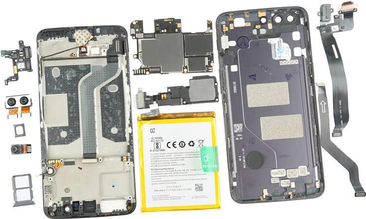 Разборка OnePlus 5