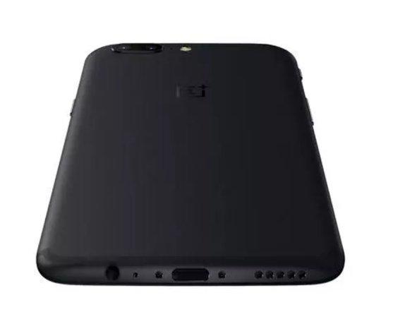 Разъем 3.5 мм у OnePlus 5 располагается справа внизу