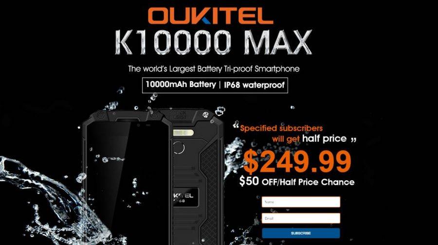Как купить Oukitel K10000 Max со скидкой