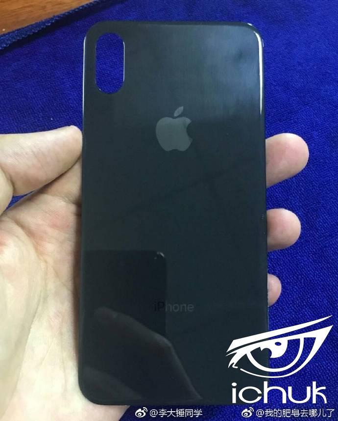 Вероятное фото задней крышки Apple iPhone 8