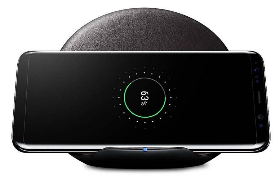 Беспроводная зарядка Samsung Galaxy S8