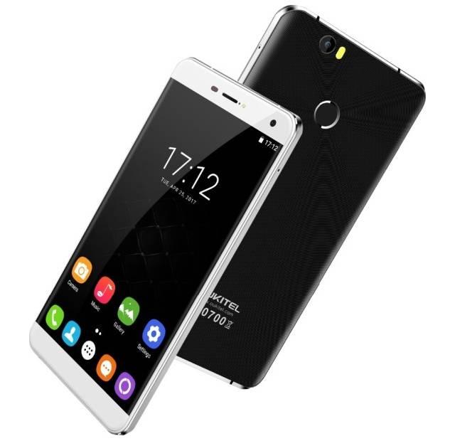 Oukitel U11 Plus в белой и черной расцветках