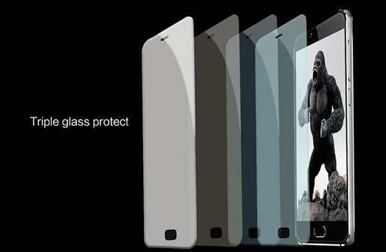 Тройное защитное стекло