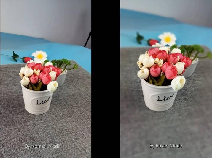 """Демонстрация работы двойной камеры и режима """"боке"""" Gretel GT6000"""