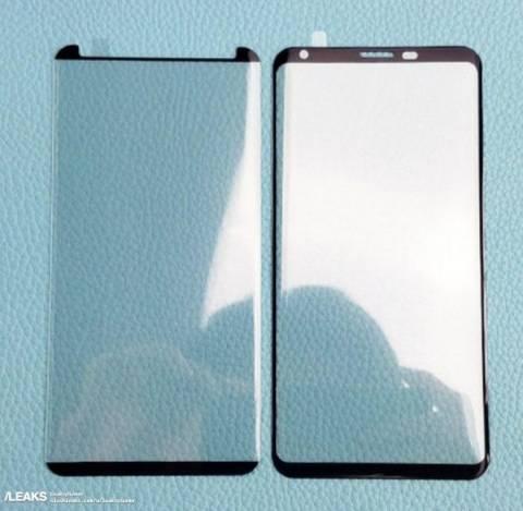 Предполагается, что на этом фото изображено защитное стекло для LG V30