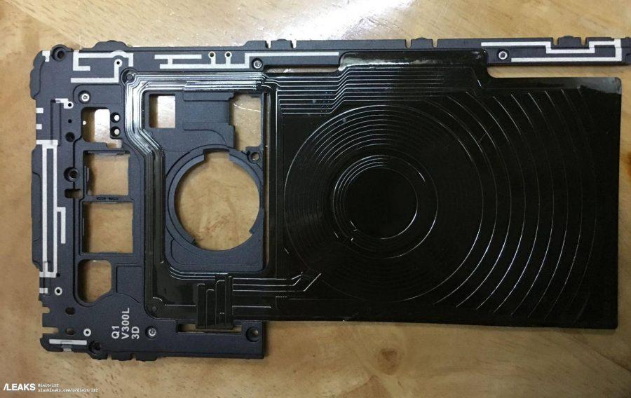 Если верить инсайдерам, на этом фото изображена катушка беспроводной зарядки от LG V30