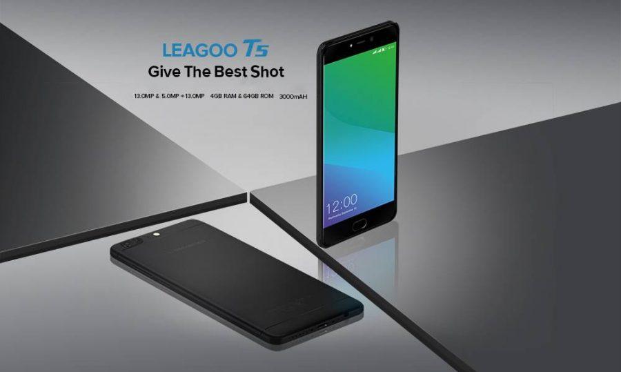 Промо-слайд из презентации Leagoo T5