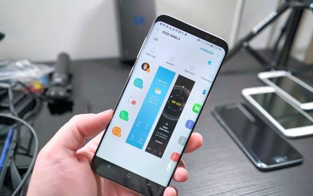 Samsung Galaxy S8 Edge Panel