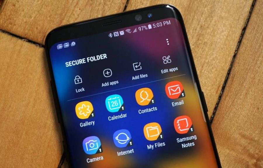 Настраиваем Secure Folder на Samsung Galaxy S8