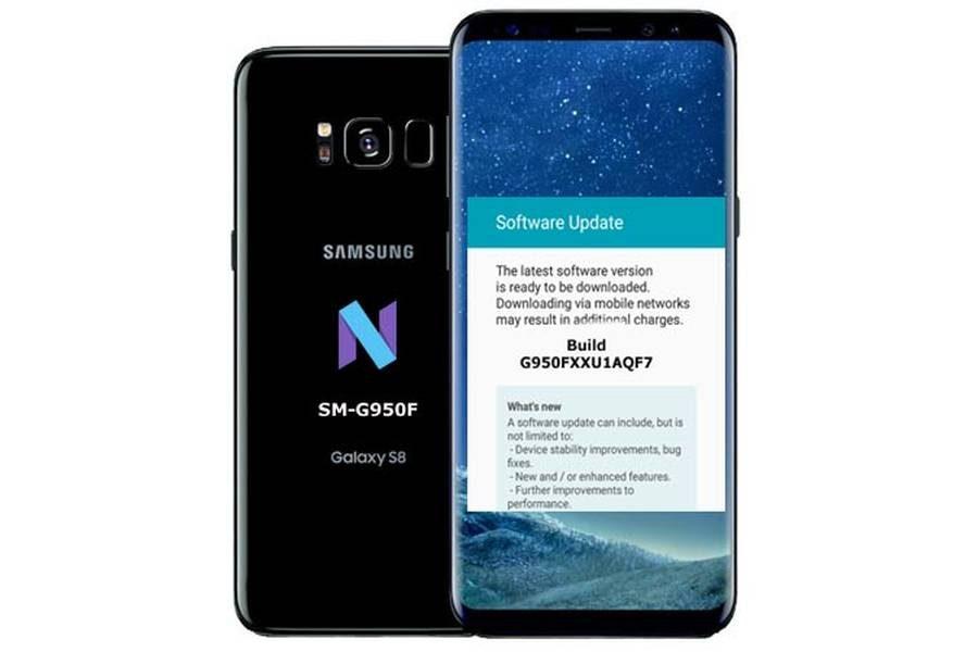 """Июньское обновление прошивки """"прилетело"""" на Samsung Galaxy S8 SM-G950F"""