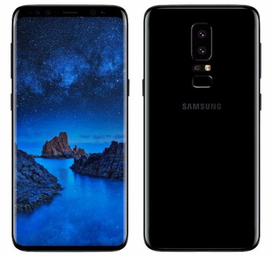 Рендер Samsung Galaxy S9, созданный по мотивам утечек