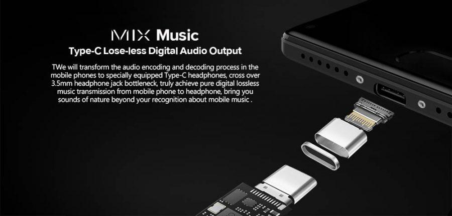 К сожалению, вывод звука возможен только через USB Type-C