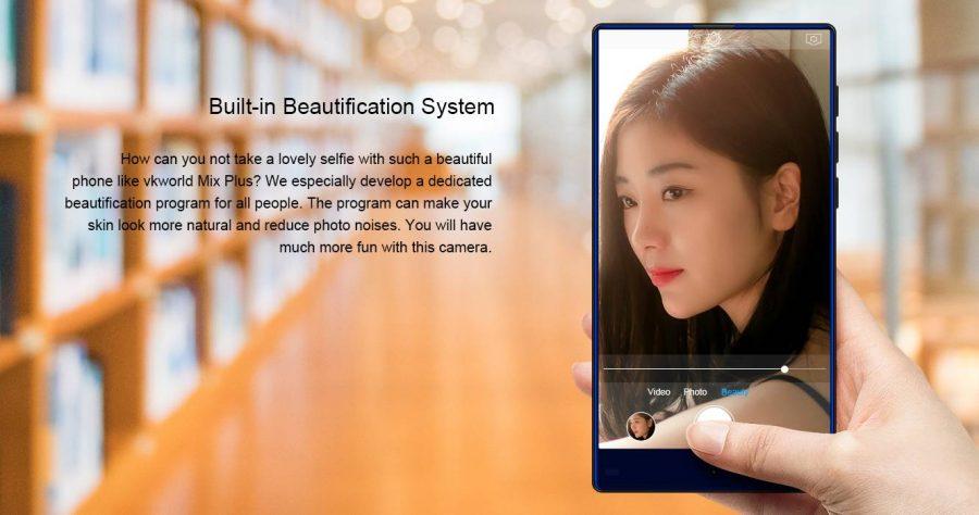 """Фронтальная камера и режим """"Beauty mode"""""""