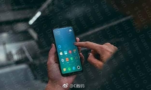 Предположительное фото Xiaomi Mi Mix 2