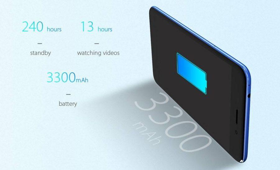 Создатели устройства обещают 240 часов в режиме ожидания и 13 часов непрерывного просмотра видео
