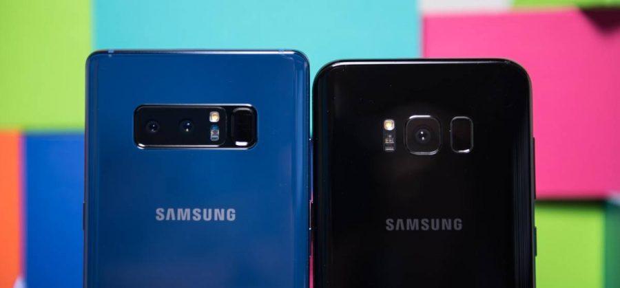 Камеры Samsung Galaxy Note 8 vs Galaxy S8/S8 Plus