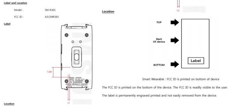 Краткое описание и схематичное изображение Samsung Gear Fit 3