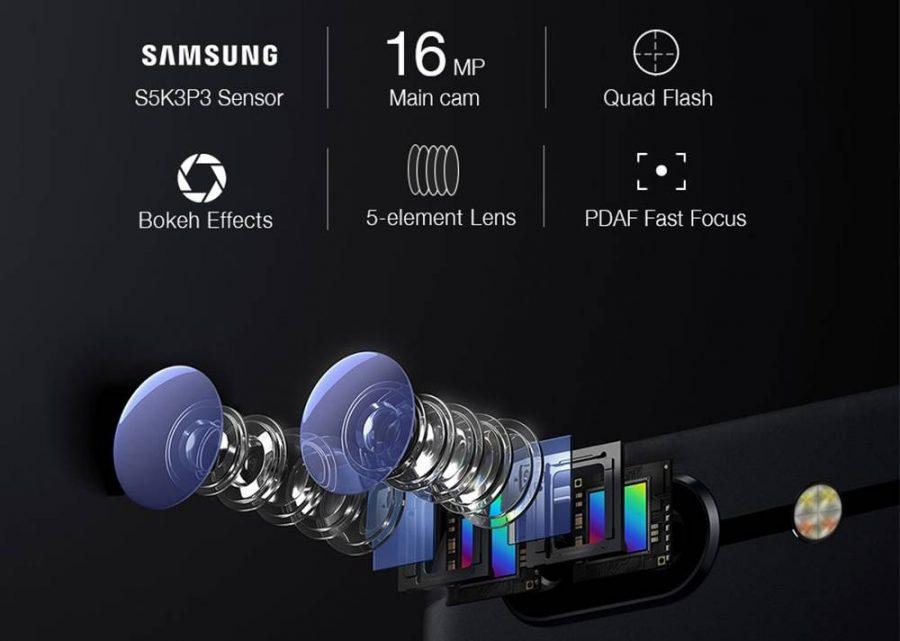 Главные характеристики основной камеры