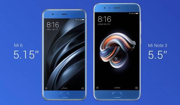 Новинка в сравнении с Xiaomi Mi6