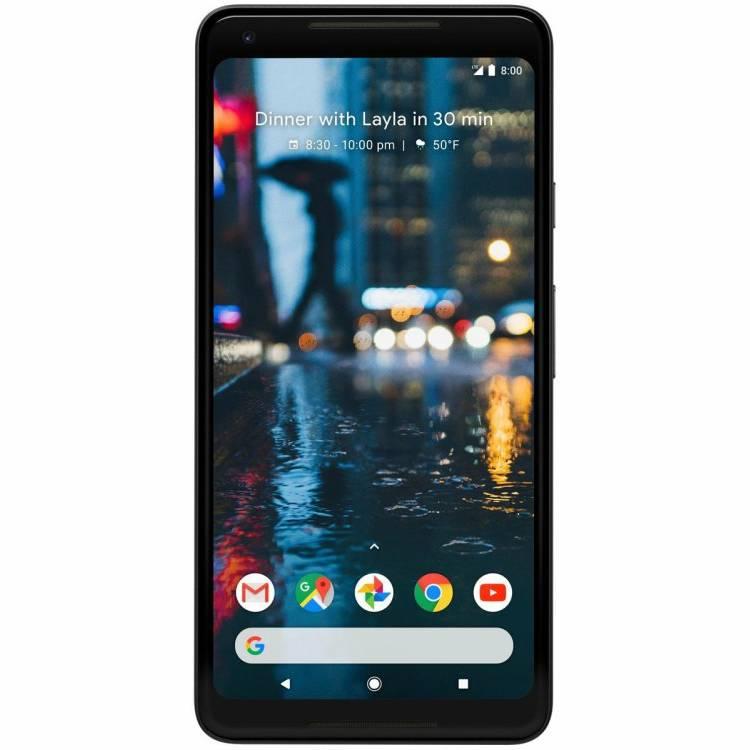 Основной экран Google Pixel 2 XL