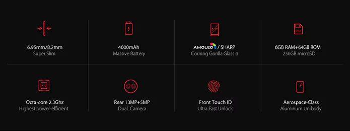 Ключевые фишки UMIDIGI Z1 Pro по версии производителя