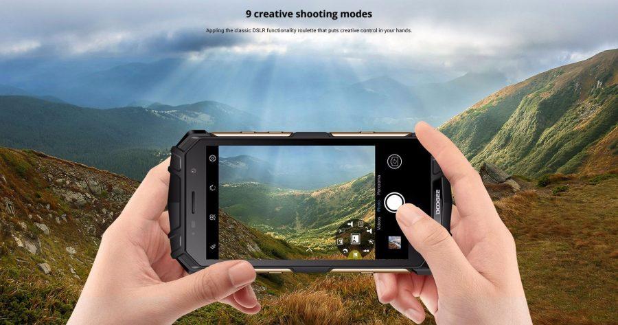 Приложение камеры DOOGEE S60