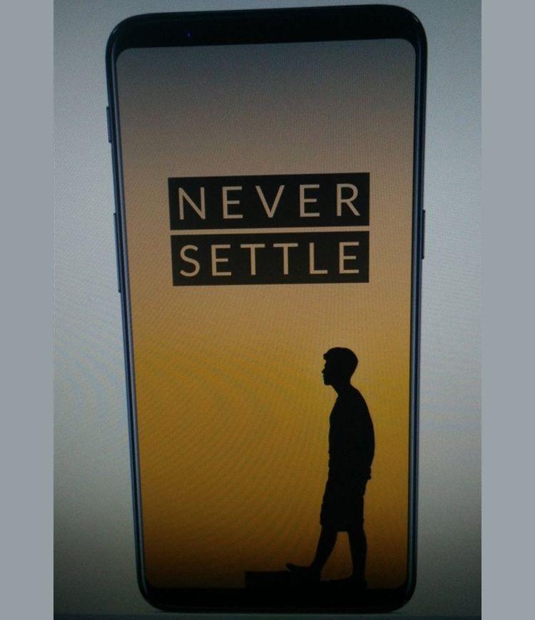 Есть предположения, что на этом тизере изображен не OnePlus 6, а 5T, который могут анонсировать 5 ноября