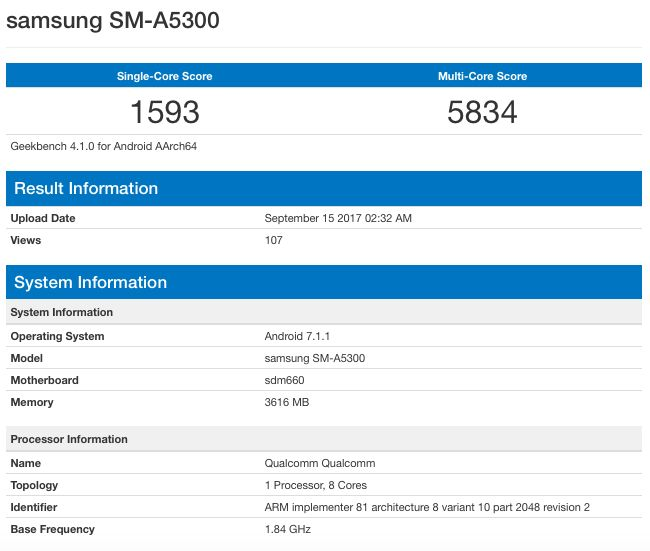 Qualcomm Snapdragon 660 (SDM660)
