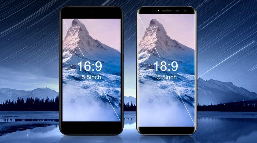 Oukitel C8 в сравнии с обычным смартфоном