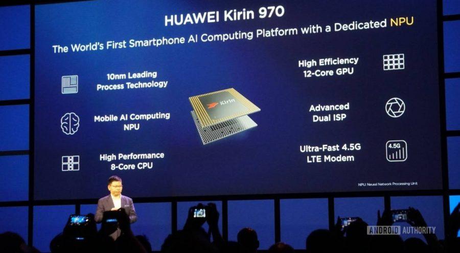 Презентация Kirin 970 - самого мощного процессора HiSilicon в 2017 году