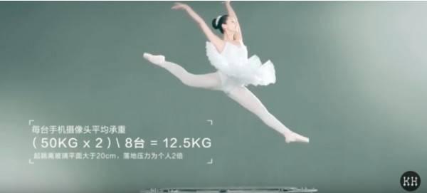 Тест балериной