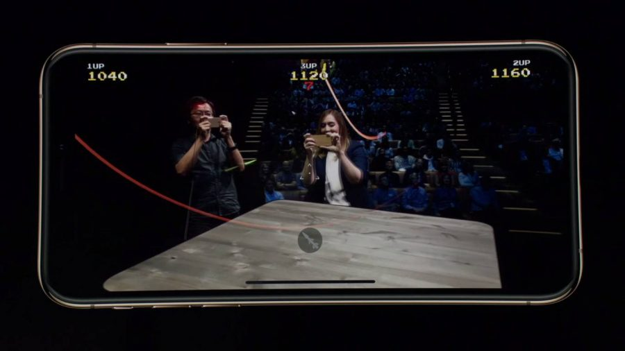Дополненная реальность силами Apple A12