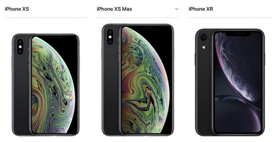 Apple iPhone XR vs XS vs XS Max
