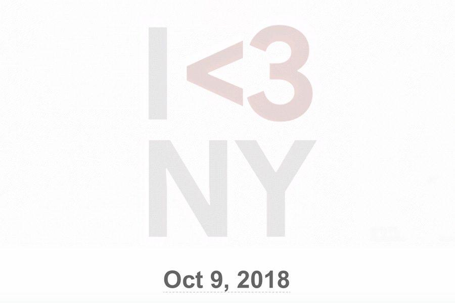 Официальный тизер презентации Google Pixel 3