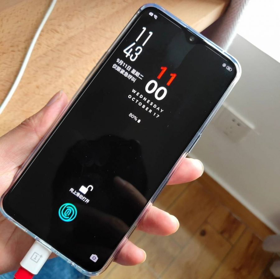 OnePlus 6T еще одно фото