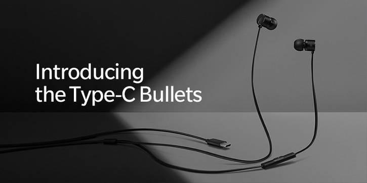 Новые проводные наушники с интерфейсом USB Type-C для OnePlus 6T
