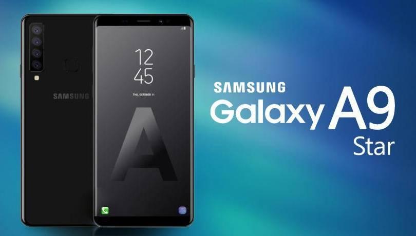 Концепт Samsung Galaxy A9 Star Pro